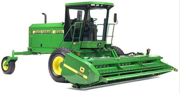 John Deere 4890 Self-Propelled Hay and Forage Windrower Operation and Test Service Manual tm1781