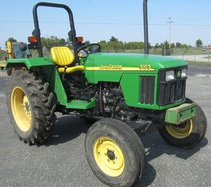 John Deere 5103S Tractor Workshop Service Repair Manual
