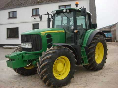 John Deere 6020, 6120, 6220, 6320, 6420, 6620, 6820, 6920 Tractor Diagnosis, Operation and Test Service Manual TM4726