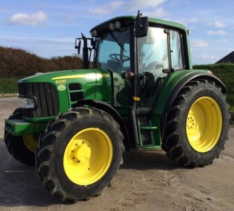 John Deere 6230, 6330, 6430 Premium Tractor Diagnostic, Operation and Test Service Manual TM8081