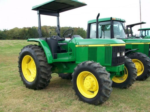 John Deere 6405 and 6605 Tractors Diagnosis and Tests Service Manual TM4867