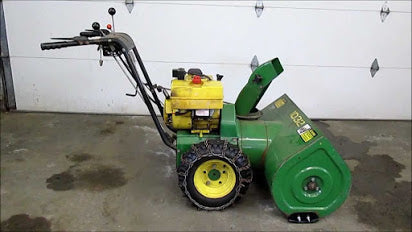 John Deere 826, 1032 Snowblower Operator's Manual OM-M83163