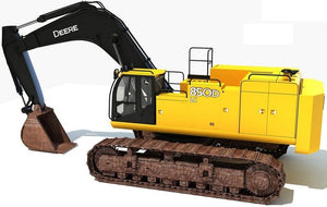 John Deere 850DLC Excavator Operation and Test Service Manual TM10009