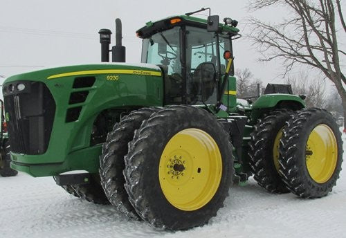 John Deere 9230, 9330, 9430, 9530, 9630 Articulated Tractor Diagnosis & Test Service Manual TM2254