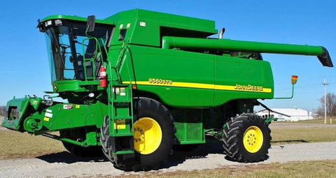 John Deere 9560 STS 9660 STS 9760 STS 9860 STS Combine Repair Service Technical Manual TM2181