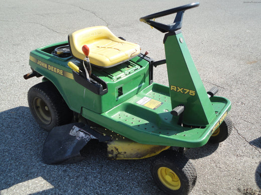 John Deere RX63, RX73, RX75, RX96, SX75, SX96 Riding Mower Service Repair Technical Manual TM1391