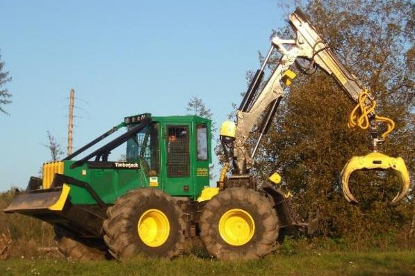 John Deere Timberjack 360D, 460D, 560D Single Arch Grapple Skidder Operation and Test Service Manual TM1879