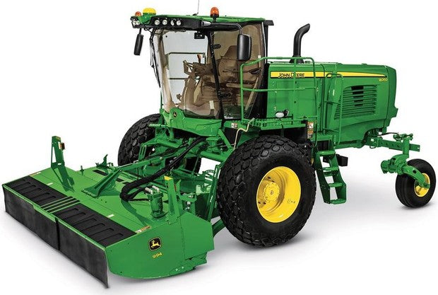 John Deere W235, W260 Rotary Self-Propelled Hay & Forage Windrower  Operation and Test Service Manual TM129619