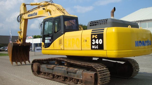 KOMATSU PC340LC-7K, PC340NLC-7K Hydraulic Excavator Service Repair Shop Manual