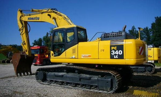 KOMATSU PC340, PC340LC-6K, PC340NLC-6K Hydraulic Excavator Service Repair Shop Manual