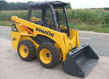 KOMATSU SK714-5 SK815-5 SK815-5 turbo Skid-Steer Loader Service Repair Shop Manual WEBM005500