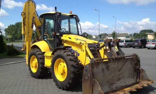 KOMATSU WB97S-5 Backhoe Loader Service Repair Shop Manual