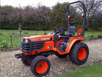 KUBOTA B1700D TRACTOR ILLUSTRATED PARTS MANUAL