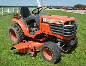 KUBOTA B2400 HSE TRACTOR ILLUSTRATED PARTS MANUAL