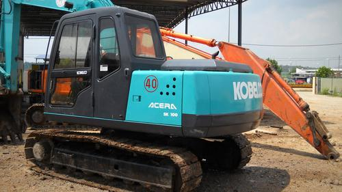 Kobelco Model SK100, SK120LC Hydraulic Excavator Workshop Service Repair Manual