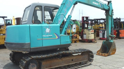 Kobelco Model SK60V Hydraulic Excavator Workshop Service Repair Manual S5LE0006E
