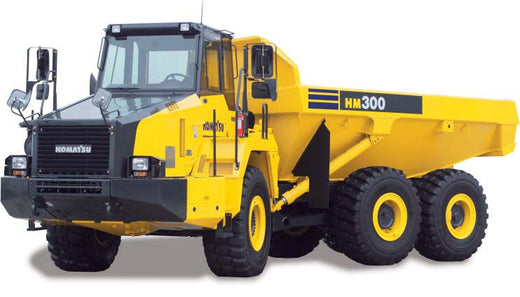 Download Komatsu HM300-2(JPN) Articulated Dump Truck Operation and Maintenance Manual S/N 2001-2480