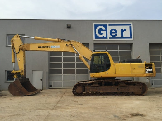 Download Komatsu PC450LC-6(JPN) CRAWLER EXCAVATOR Service Repair Shop Manual S/N 12144-UP