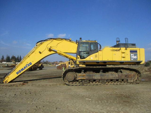 Download Komatsu PC750LC-6(JPN) CRAWLER EXCAVATOR Operation and Maintenance Manual S/N 11001-UP