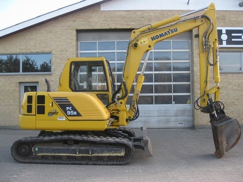 Download Komatsu PC95R-2(ITA) CRAWLER EXCAVATOR Service Repair Shop Manual S/N 21D5210001-UP