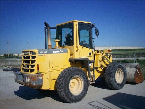 Download Komatsu WA180-3(JPN)-MC Wheel Loader Operation and Maintenance Manual S/N A81001-UP