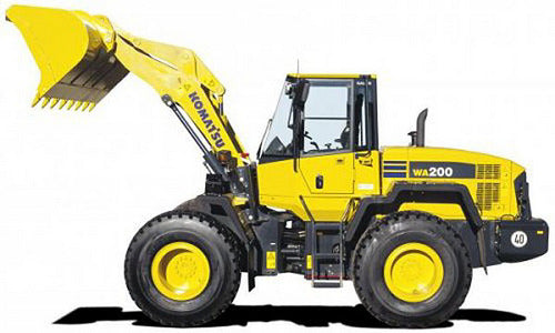 Download Komatsu WA200L-5(JPN) Wheel Loader Operation and Maintenance Manual S/N 68582-UP