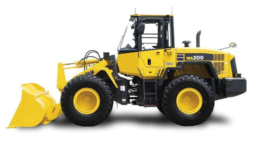 Download Komatsu WA200PZ-6(JPN)-FOR N. AMERICA Wheel Loader Operation and Maintenance Manual S/N 70001-UP