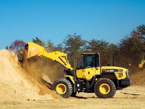 Download Komatsu WA250-6(USA) Wheel Loader Operation and Maintenance Manual S/N A76001-UP