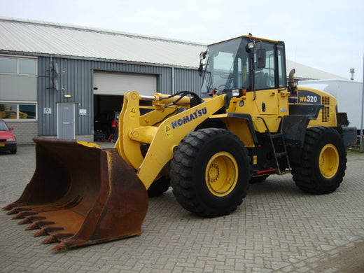 Komatsu WA320-5 Wheel Loader Operating and Maintenance Instructions Manual