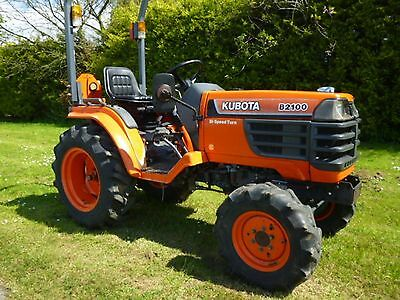 Kubota B2100HSD Tractor Illustrated Master Parts List Manual