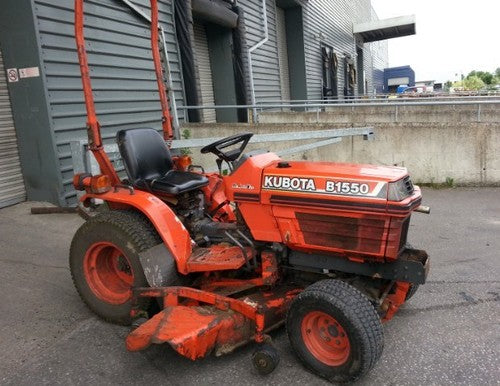 Kubota B1550E Tractor Illustrated Master Parts List Manual