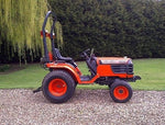 Kubota B1700E Tractor Illustrated Master Parts List Manual