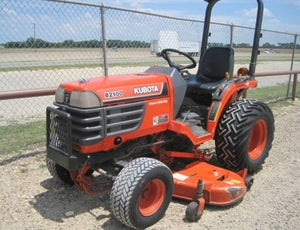 Kubota B2100E Tractor Illustrated Master Parts List Manual