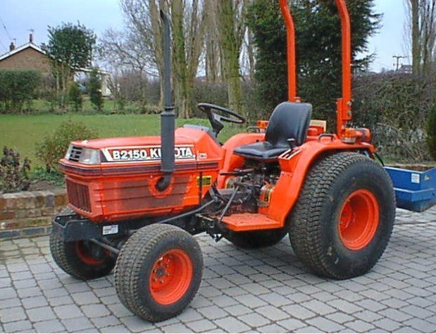 Kubota B2150E Tractor Illustrated Master Parts List Manual