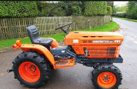 Kubota B7200HST Tractor Service Repair Manual