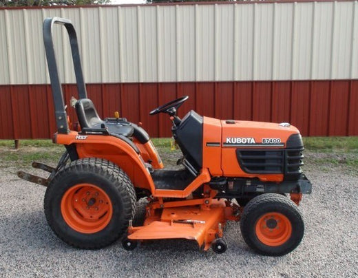 Kubota B7400HSD Tractor Illustrated Master Parts List Manual