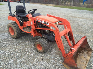 Kubota Bx2200 Tractor Service Repair Manual