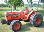 Kubota L2650, L2950, L3450, L3650 Tractor Owners Operators Manual