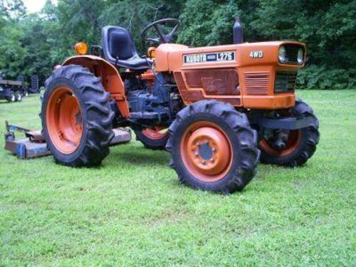 Kubota L275 Tractor Service Repair Manual