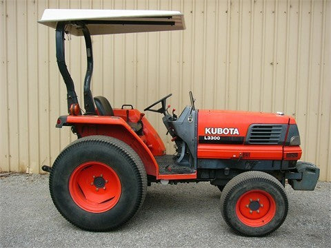 Kubota L3300DT-GST Tractor Illustrated Master Parts List Manual