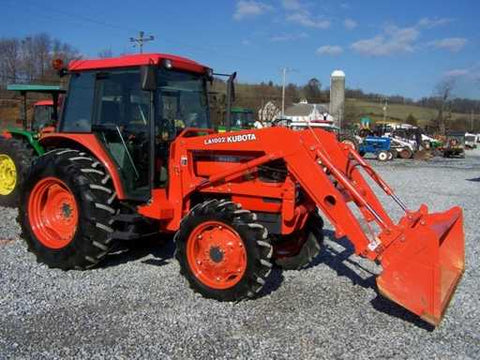 Kubota M6800 Tractor Workshop Service Repair Manual