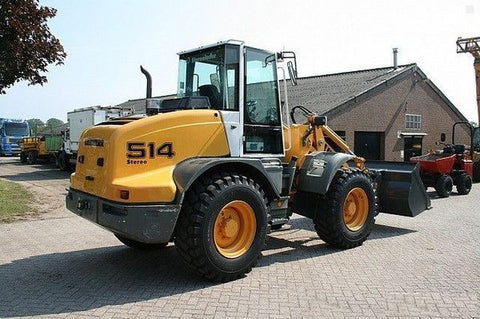 LIEBHERR L512 L514 STEREO WHEEL LOADER SERVICE MANUAL