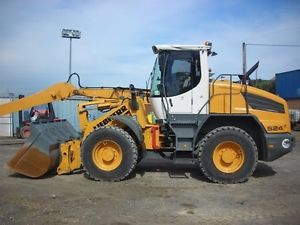 LIEBHERR L524 L534 L538 WHEEL LOADER SERVICE MANUAL