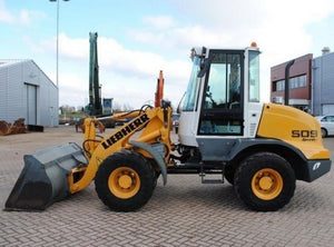 Liebherr L506 L507 L507S L508 L509 L509S L510 L514 Wheel Loader Service Manual