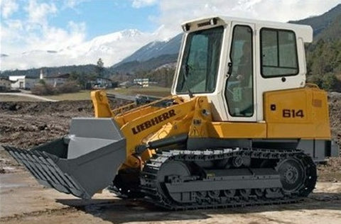 Liebherr LR 614 Lr614 Crawler Loader Series 4 Litronic Service Manual Download
