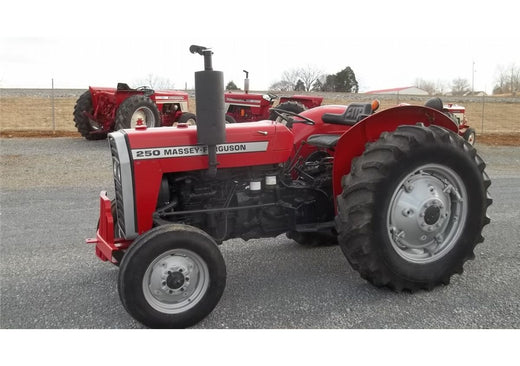 MASSEY FERGUSON 250 TRACTOR MASTER PARTS MANUAL