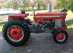 Massey Ferguson 150 165 175 Series Tractor Workshop Service Repair Manual