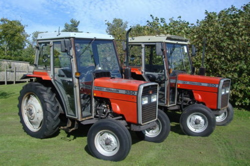 Massey Ferguson MF340, MF350, MF355, MF360, MF399 Tractor Workshop Service Repair Manual
