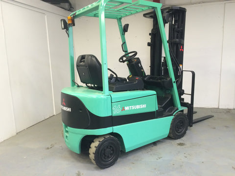 Mitsubishi FB16K, FB18K, FB20KC Electric Forklift Truck Workshop Service Repair Manual