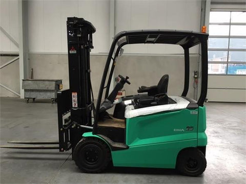 Mitsubishi FB25CN, FB25N, FB30CN, FB30N, FB35N Electric Forklift Truck Operating and Maintenance Manual